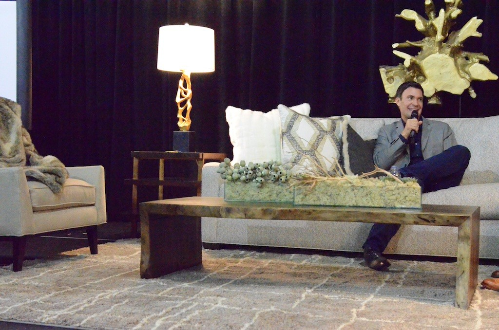 Jeff Lewis Shares at Collin County Home and Garden Show Photo: Lisa Stewart Photography