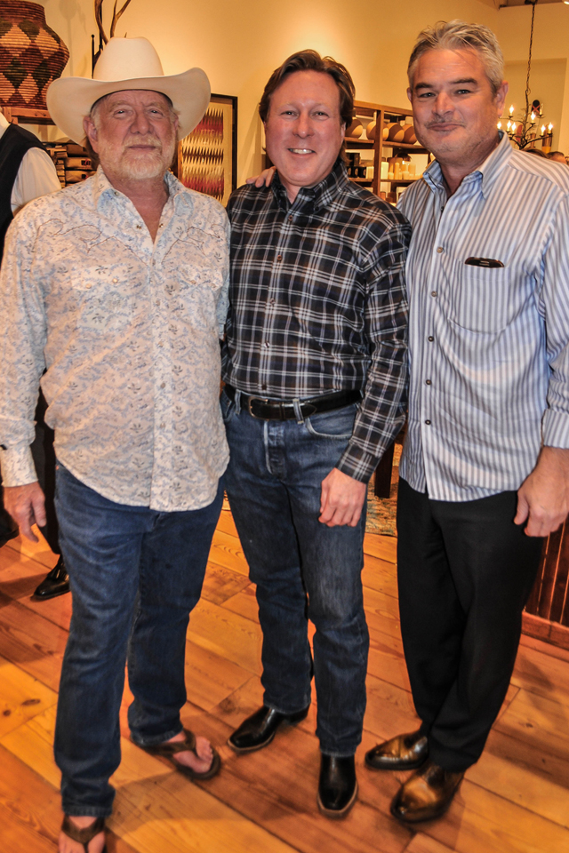 Gary Raith, John Smallwood, and Mark Conner