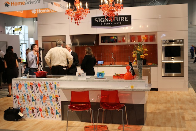 LG launched their Signature Series at the Kitchen and Bath Industry Show (Photo: Lisa Stewart Photography)
