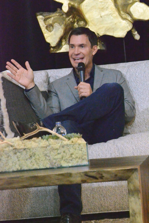 Bravo reality star Jeff Lewis charms the crowd at Collin County Home and Garden Show Photo: Lisa Stewart Photography