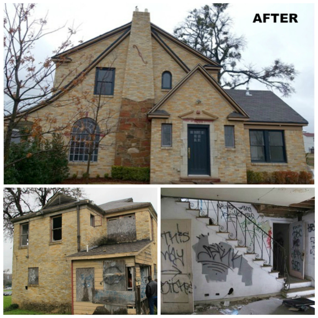 "The ""Graffiti House"" at 1007 Fort Worth Ave. won a Preservation Achievement Award last year. Photos: Alicia Quintans"