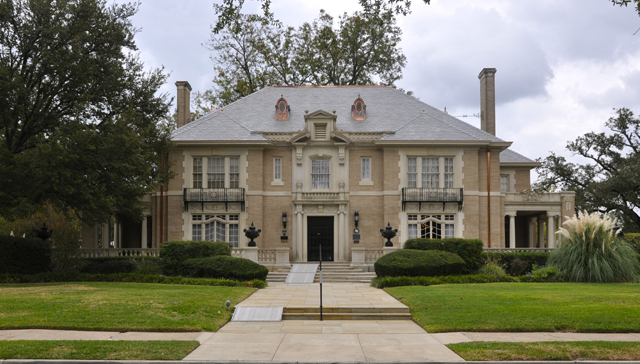 Located in the city's first residential historic district, the Aldredge House was listed as one of the most endangered historic places in Dallas last year by Preservation Dallas. Photo: Preservation Dallas