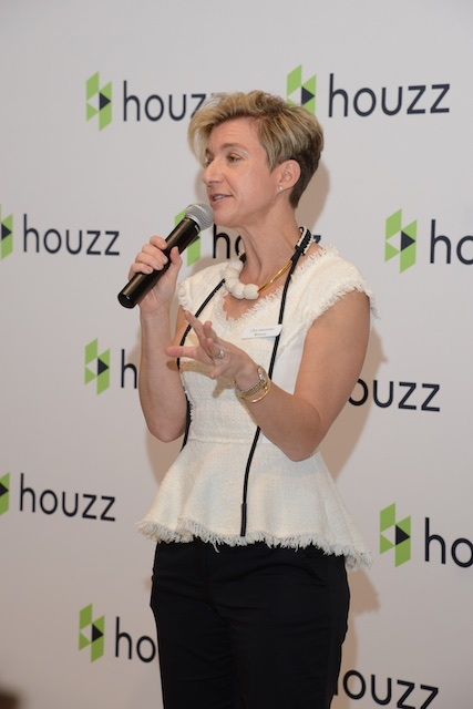 Liza Hausman, VP of Industry Marketing for Houzz (Photo: Lisa Stewart Photography)