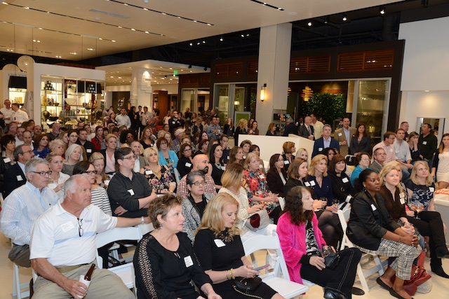 Standing room only at the 5th Anniversary celebration for Houzz. (Photo: Lisa Stewart Photography)