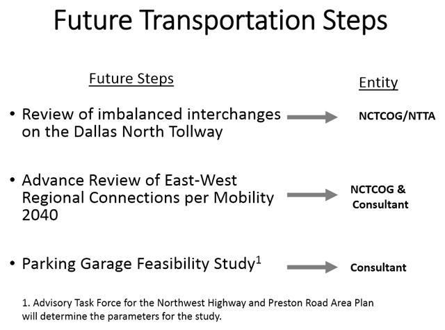 All eyes on Garage; roadway optimization, not so much