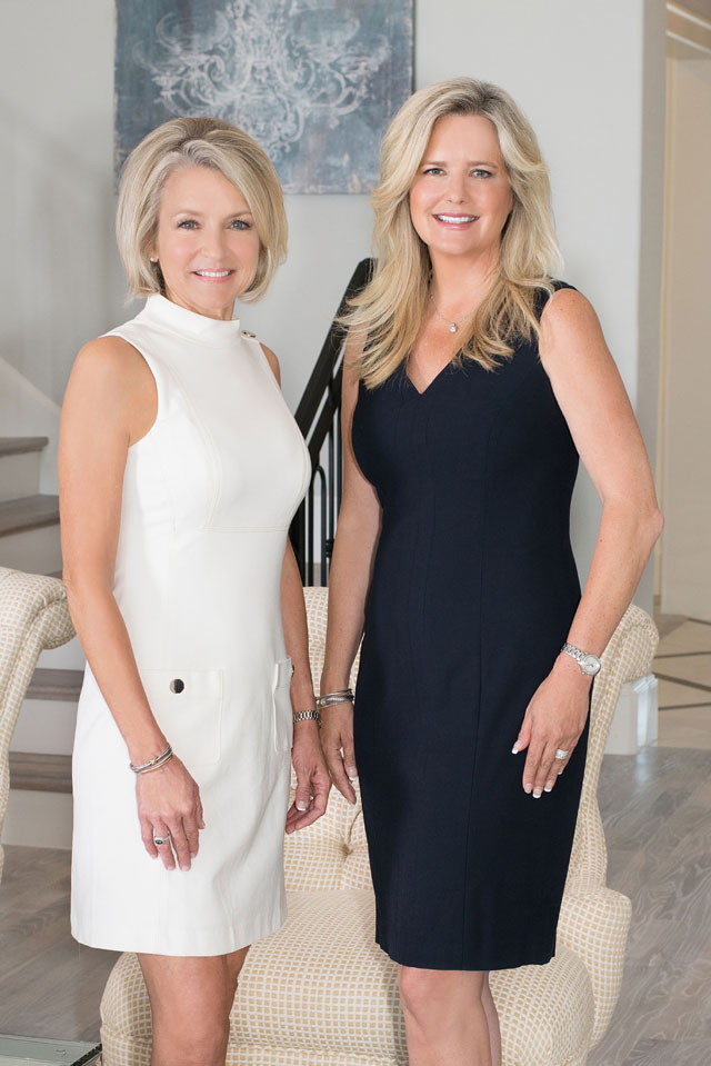 Lisa Quinn and Kelly Marcontell