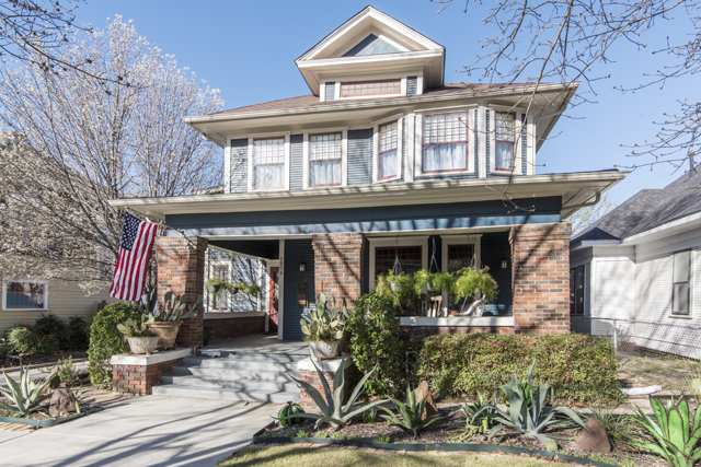 The Fairmount Historic District Mother's Day Home Tour will include some amazing 1920s-era architecture and even a new build. (Photo: 1908 Alston by Stacy Luecker)