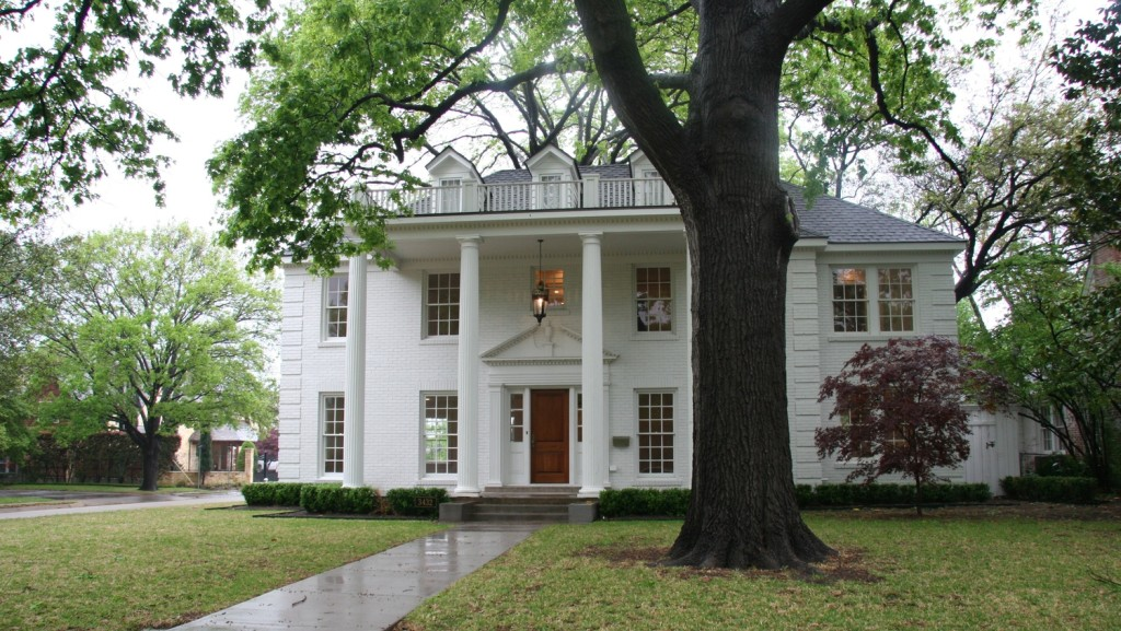 The Park Cities Historic and Preservation Society Home Tour will feature this fully restored colonial revival on Bryn Mawr.