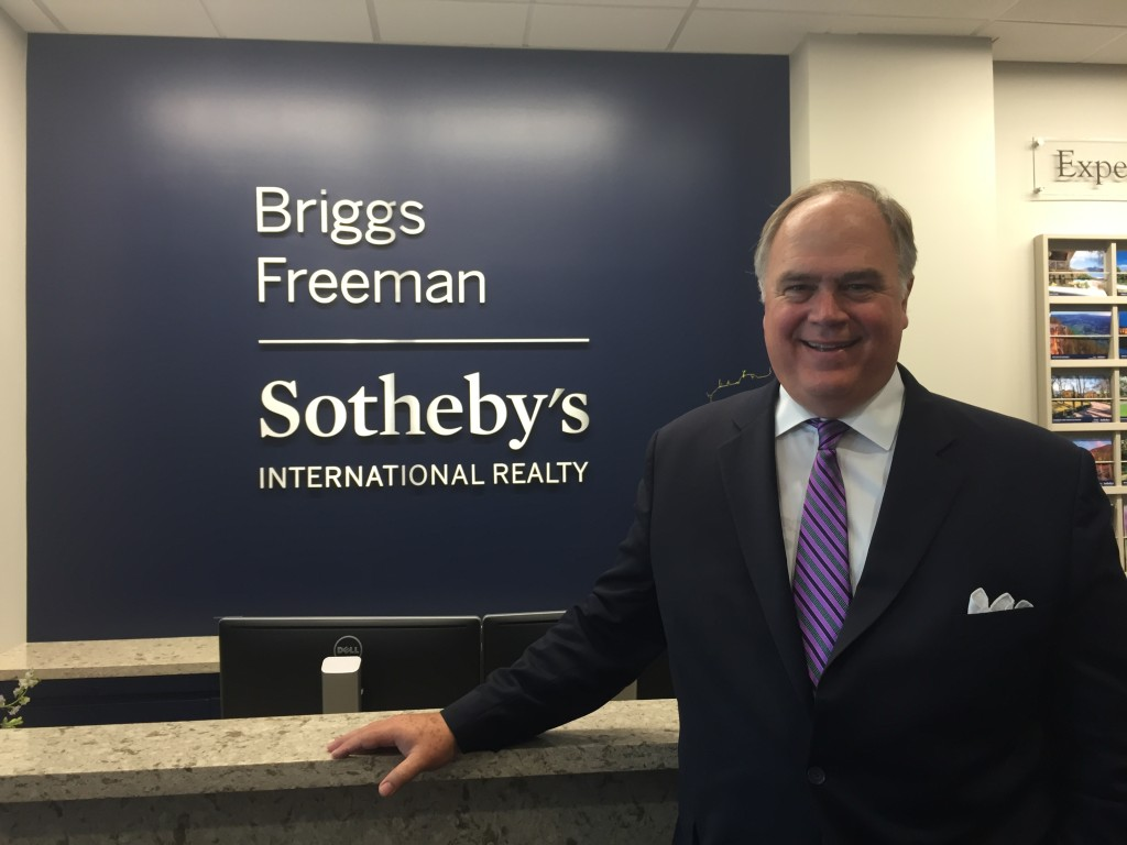 Robbie Briggs - grand opening Briggs Freeman Sotheby's International Realty offices in The North