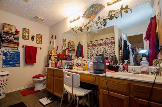 messy bathroom make up