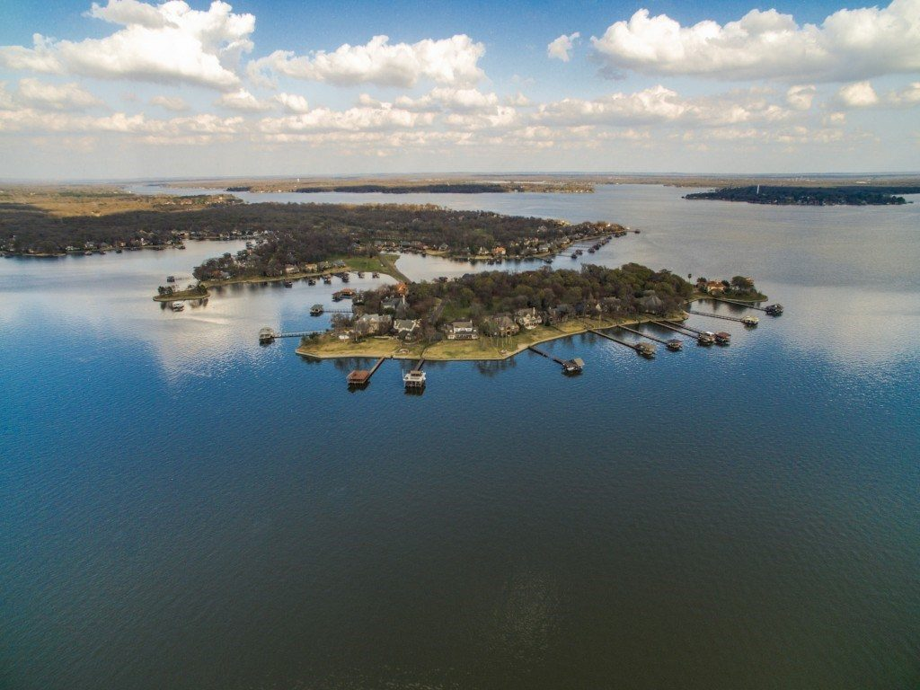 16 Island drive mabank aerial