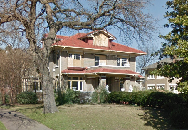 L.G. Bromberg home at 2617 South Blvd.