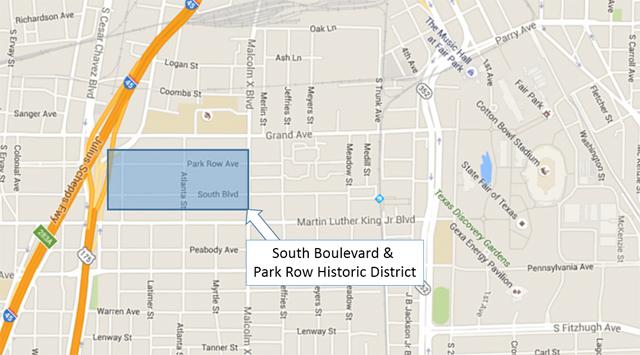 National Register neighborhood is a Stone's throw from Fair Park