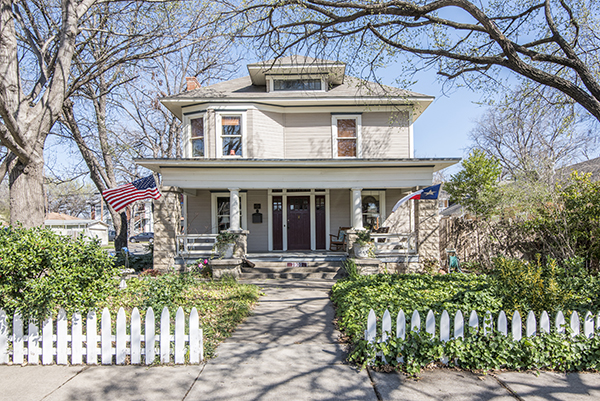 Tony Sims' incredible renovation at 1901 Fairmount will be on the Fairmount National Historic District Tour of Homes this Mother's Day weekend. (Courtesy Photo)