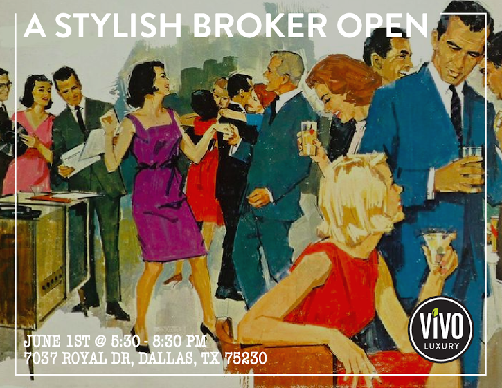 Stylish Broker Open Invite Vivo Realty