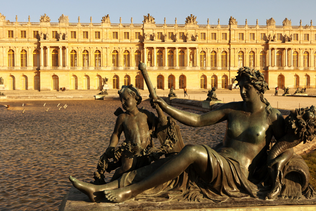 Versailles, not everyone's idea of a second home
