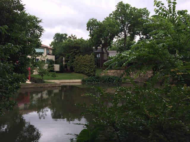 View across Turtle Creek