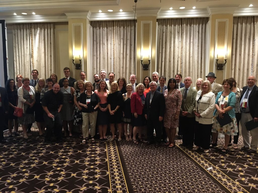 All of the winners at the 66th annual National Association of Real Estate Editors Journalism Awards reception!