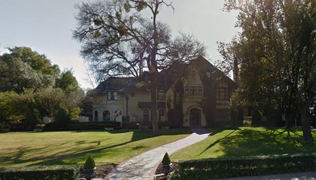Sam Wyly 3905 Beverly Google Street View