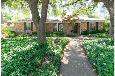 This 4 bedroom, 2 bath home at 5602 Ledgestone is in the Dan D. Rogers Elementary attendance zone.