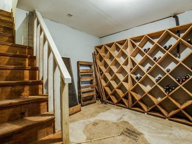647 Bizerte Avenue Wine Cellar Basement