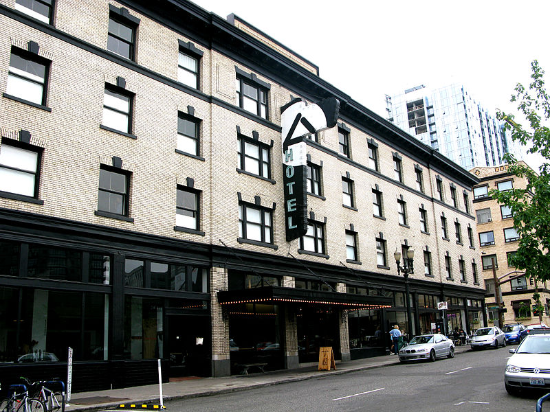 Ace Hotel in Portland. By Kari Sullivan via Wiki Media