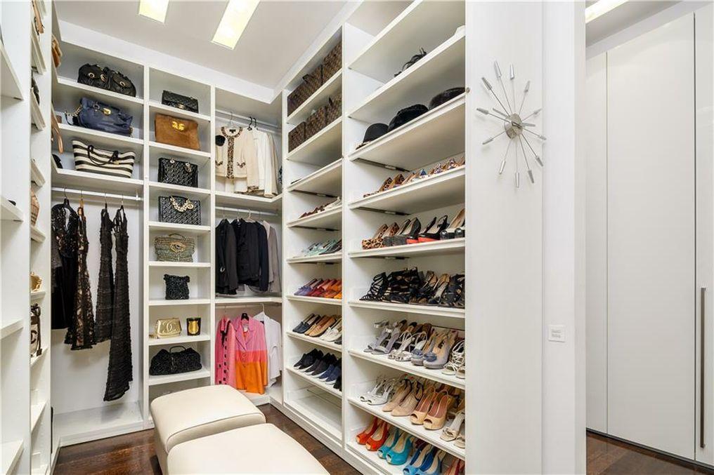 Angie Barrett closet