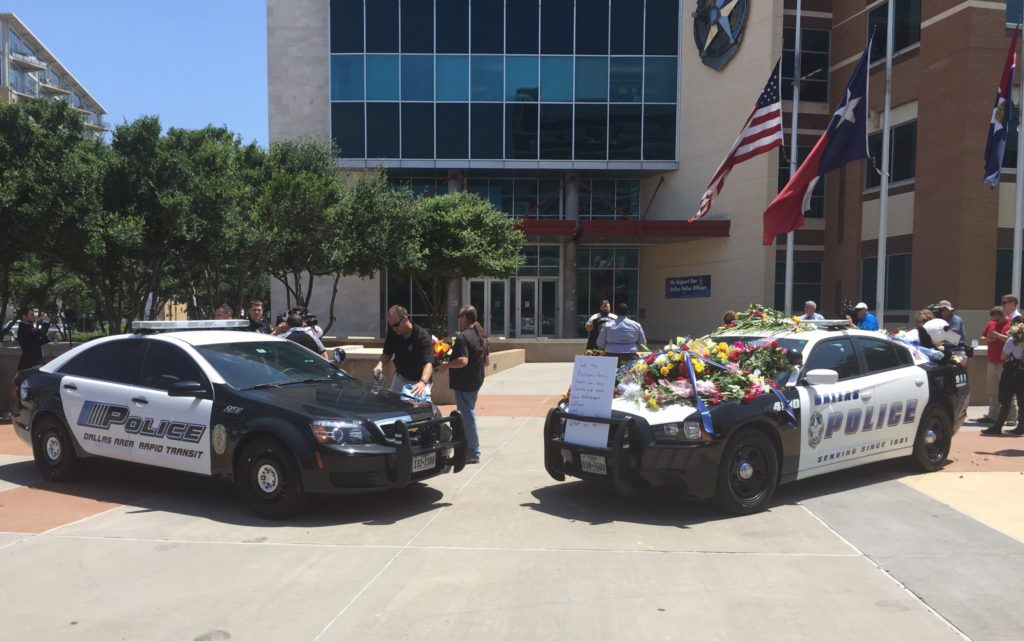 DPD Memorial Squad Cars HQ