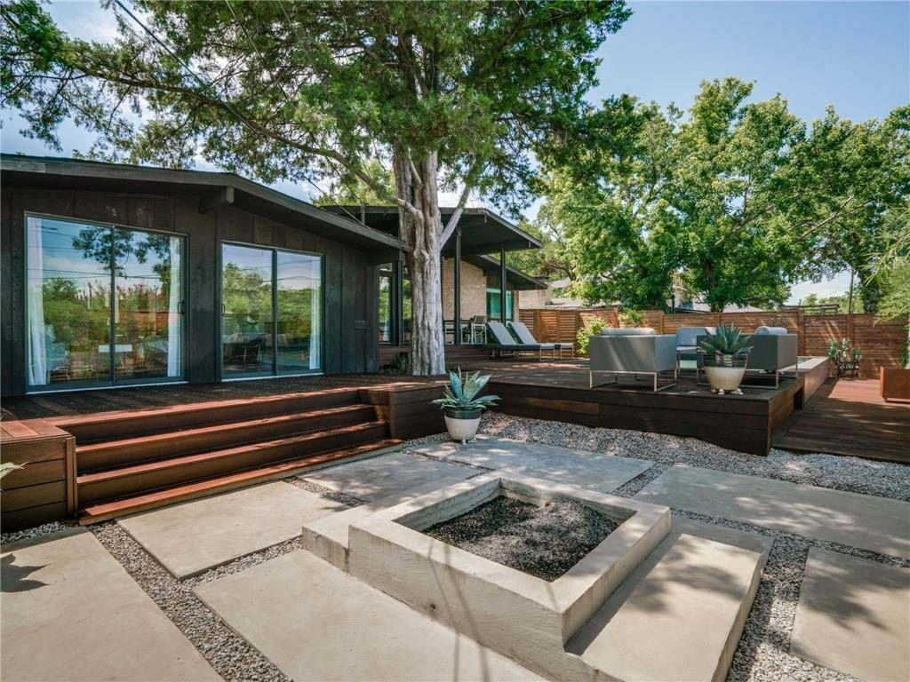 lake highlands mid century modern complete with flawless