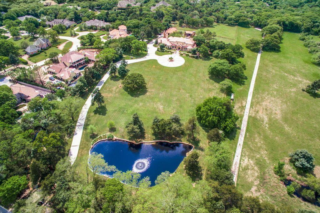 SOUTHLAKE 1900 Shady Oaks Aerial