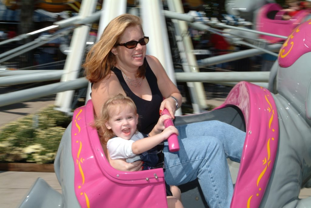 All generations enjoy the midway at tehh State Fair of Texas Photo: Lisa Stewart Photography
