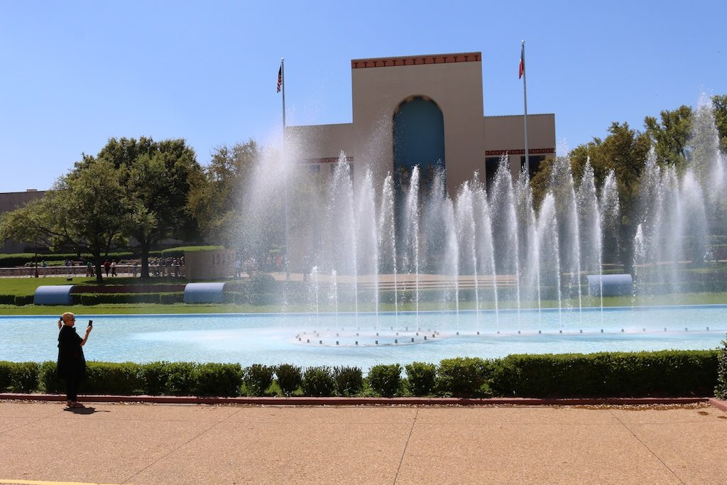 The grounds and buildings at Fair Park are enjoyed all year long. Photo: Lisa Stewart Photography