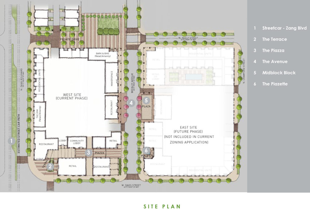 Vision - Ground Level & Overall Site Plan-1