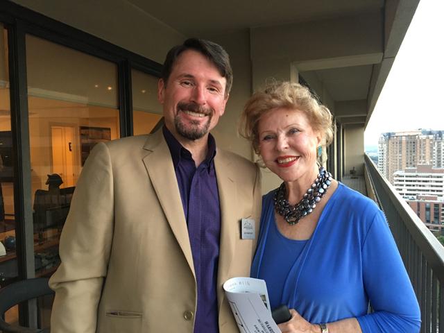 Judy Pittman and me