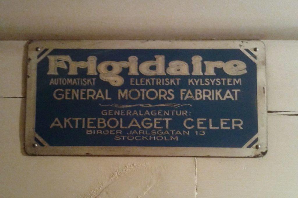 Frigidaire_fridge_Hallwylska_museet