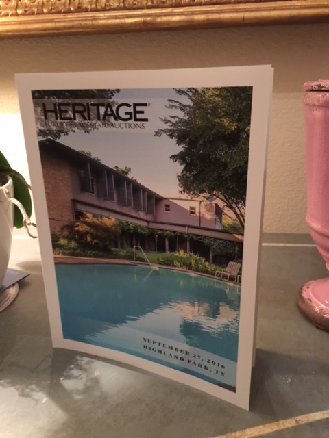 Heritage Auction catalog