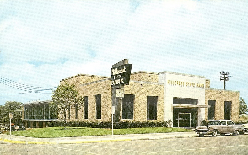Don't you with Dahl's Hillcrest State Bank (and that Chevy) was still around?