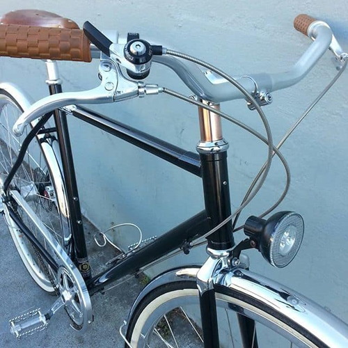Manifesto Bicycle with Copper Accent