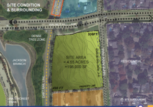 Proposed site for White Rock Trail Elementary.