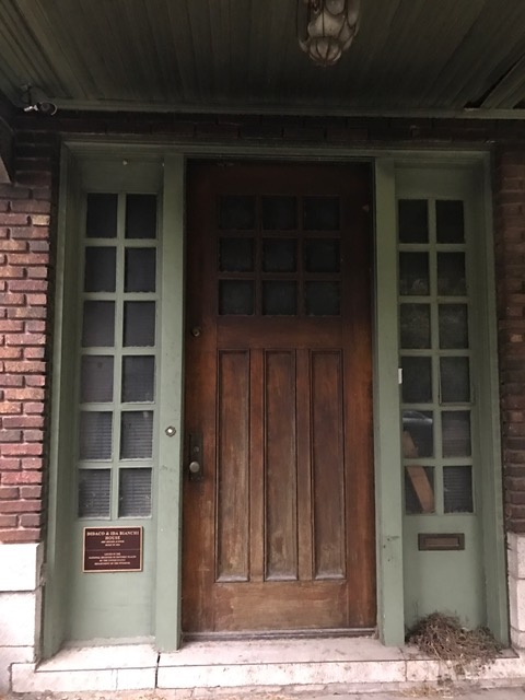 Binchi House door