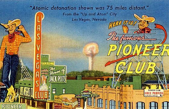 1950s Las Vegas Postcard