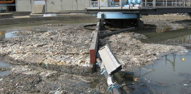 Where Flushable Wipes Wind Up. Source: NYC Environmental Protection