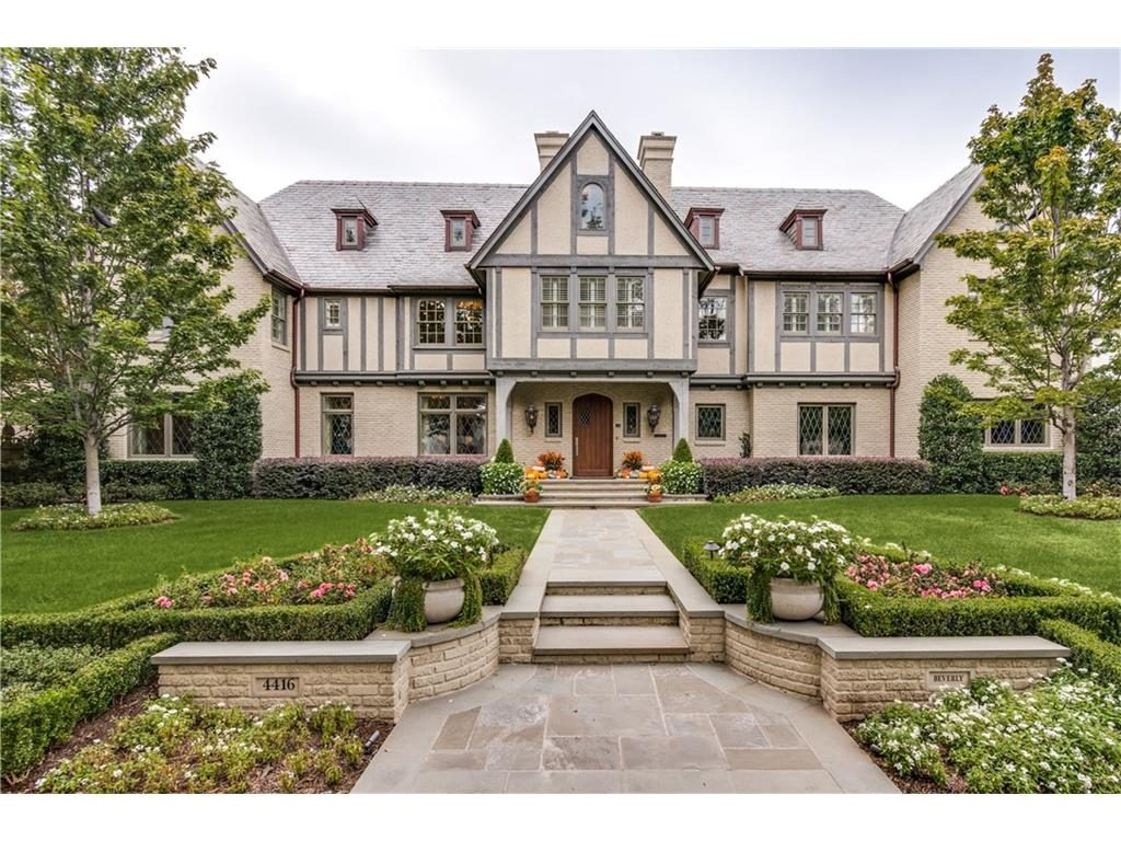Timeless Tudor on Beverly Drive - 4416 Beverly