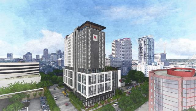 Marriott Uptown Exterior 1