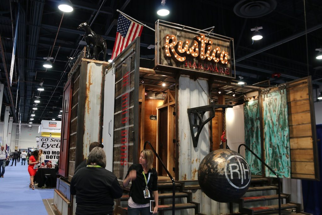 Everything from custom doors to drink coolers at the National Hardware Show. Photos: Lisa Stewart Photography