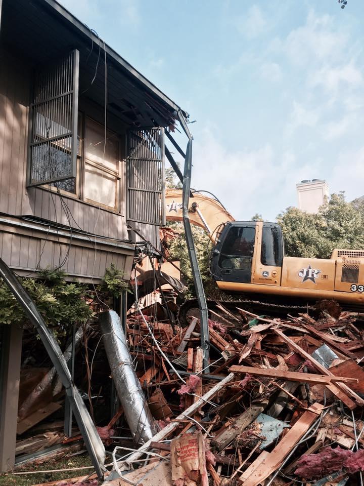 Penson House demolition