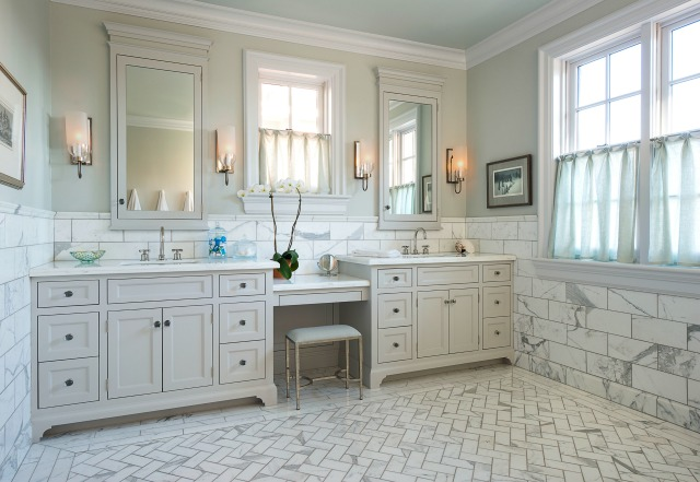 The interior reflects and honors this historical home. Photo: Dan Piassick