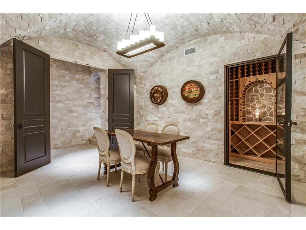 10731 Bridge Hollow Court wine room
