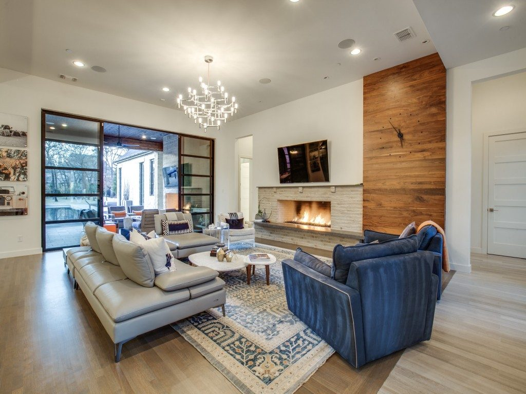 Southlake Contemporary family fireplace 1312-fanning-st-southlake-tx-MLS-5