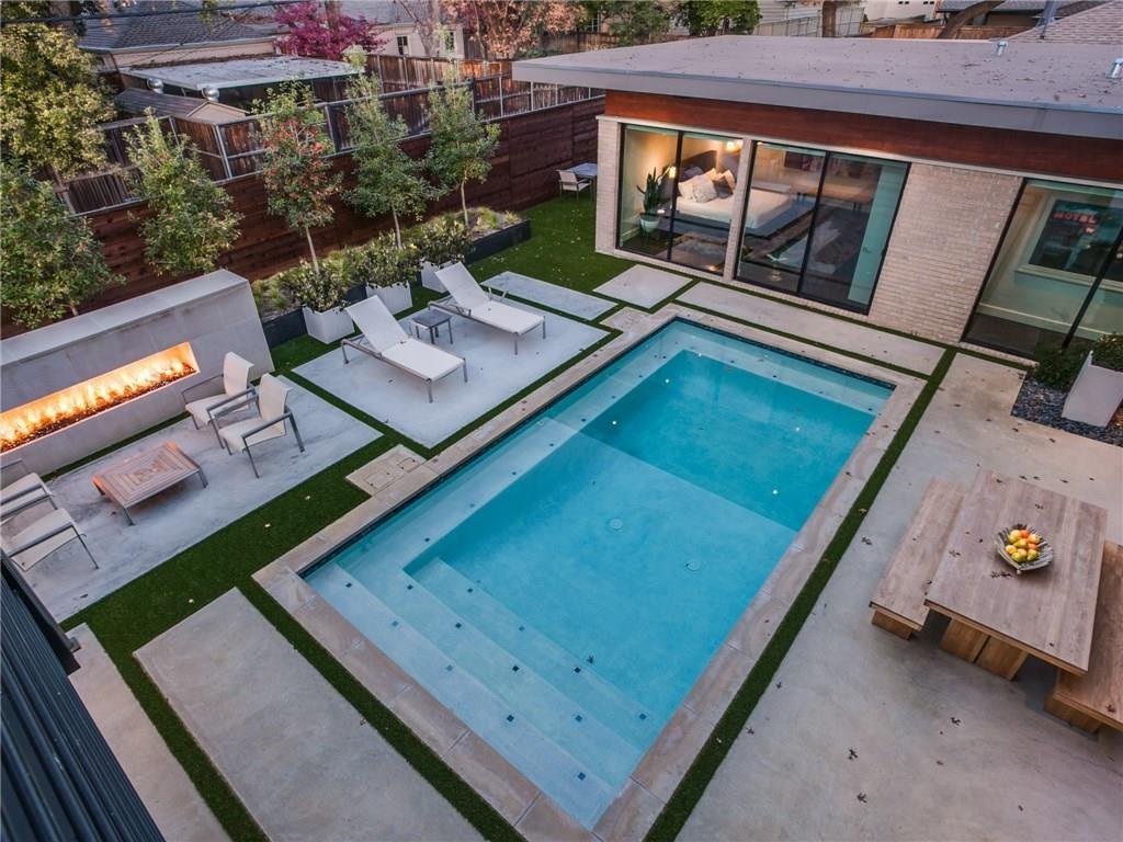 Extraordinary Mockingbird Park Contemporary 5351 Livingston Avenue pool view ashx